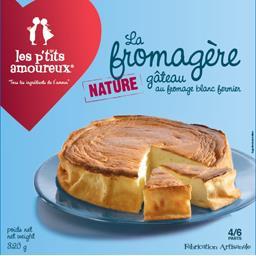 Les P'tits Amoureux Gâteau La Fromagère nature la boite de 320 g