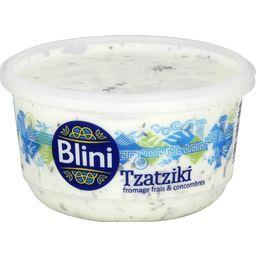Blini Blini Tzatziki fromage frais & concombres la barquette de 200 g