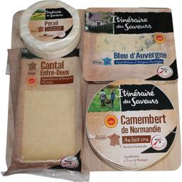 Plateau 4 fromages