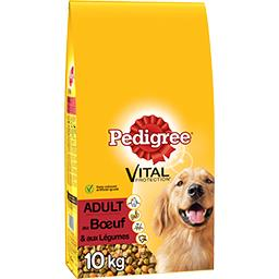 Pedigree Pedigree Vital Protection - Croquettes bœuf & légumes Adult le sac de 10 kg