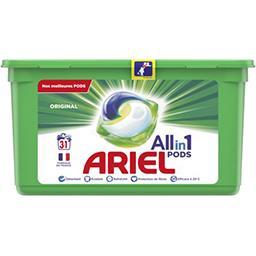 Ariel Ariel Lessive en capsules allin1 pods original La boîte de 31 lavages