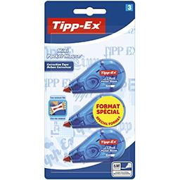 3 Minis rubans correcteurs Pocket Mouse TIPP-EX, 5mmx5m