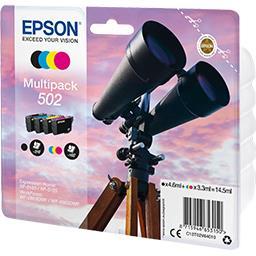 Epson Cartouche Ink/502 Binocular CMYK sec