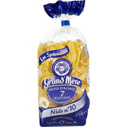 Les Spécialités - Pâtes d'Alsace Nids n°10