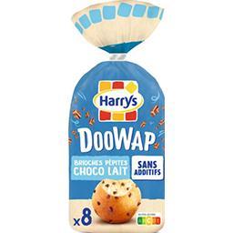 Harry's Harrys Doo Wap - Brioches pépites choco lait le paquet de 8 - 320 g