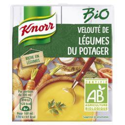 Knorr Knorr Velouté de légumes du potager BIO la brique de 0,3 l
