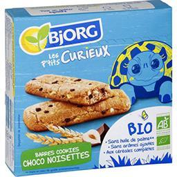 Bjorg Bjorg Barre cookie BIO choco  noisette kid la boîte de 140g