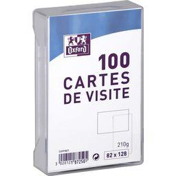 Carte de visite oxford 82x128