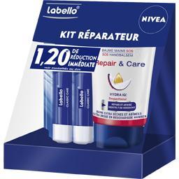 Kit réparateur Repair & Care hiver stick + baume main