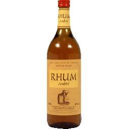 Rhum ambré traditionnel départements français d'Outr...