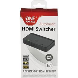 Automatic HDMI Switcher 3 entrées avec télécommande