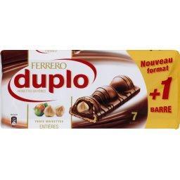 Duplo - Gaufrettes au chocolat et noisettes entières