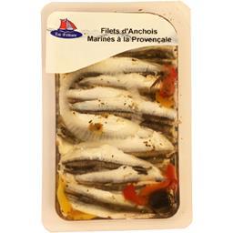 Filets d'anchois marinés à la Provençale