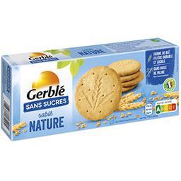 Gerblé Gerblé Sablé nature sans sucres la boite de 12 biscuits - 132 g