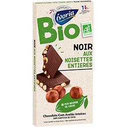 Chocolat noir aux noisettes entières BIO
