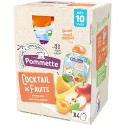 Purée Cocktail de fruits, dès 10 mois