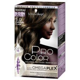 Pro Color - Coloration châtain clair 5.0
