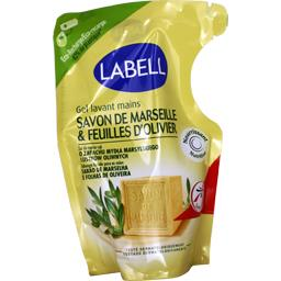 Gel lavant mains savon de Marseille & feuilles d'oli...