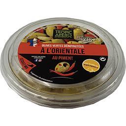 Tropic Apéro Tropic Apéro Olives vertes dénoyautées à l'orientale au piment la coupelle de 110 g