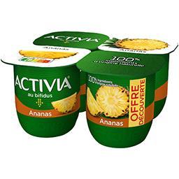 Activia - Lait fermenté ananas