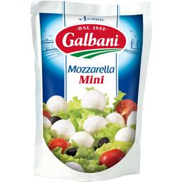 Galbani Galbani Mini mozzarella le sachet de 150 g net égoutté