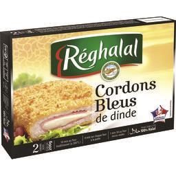 Cordons bleus de dinde halal