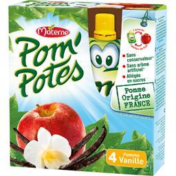 Pom'Potes - Compote en gourde pomme vanille