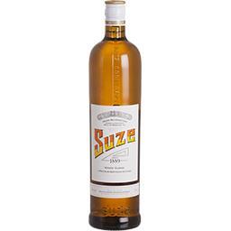 Suze Suze Apéritif élaboré à partir de gentianes sauvages la bouteille de 1 l