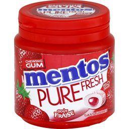 Pure Fresh - Chewing gum goût fraise sans sucres