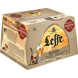 Leffe Leffe Bière blonde les 20 bouteilles de 25 cl