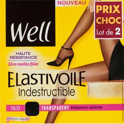 Collant Elastivoile indestructible T 2 beige élégant