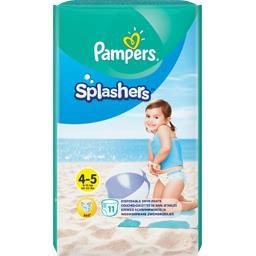 Pampers Pampers Couches-culottes de bain jetables splashers t4-5 Le paquet de 11