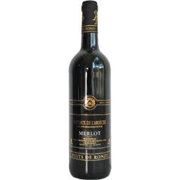 Vin de pays des Coteaux de l'Ardèche Merlot, vin rouge