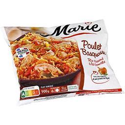 Marie Marie Poulet basquaise riz cuisiné à la tomates le sachet de 900 g