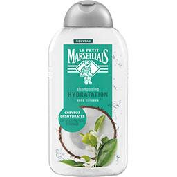 Le Petit Marseillais Le Petit Marseillais Shampooing Hydratation eau de coco & fleur d'oranger le flacon de 250 ml