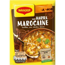 Maggi Maggi Escapade - Soupe déshydratée Harira marocaine le sachet de 90 g