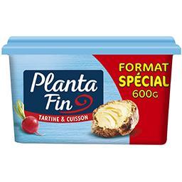 Planta fin Planta fin Margarine Tartine & Cuisson Demi-Sel la barquette de 600 g