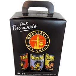 Assortiment de bières Mutine /Dolmen/Ouessane