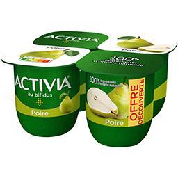 Danone Danone Activia - Lait fermenté poire