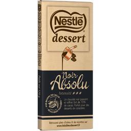 Nestlé Nestlé Dessert - Chocolat noir Absolu la tablette de 170 g