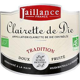 Clairette de Die Tradition BIO