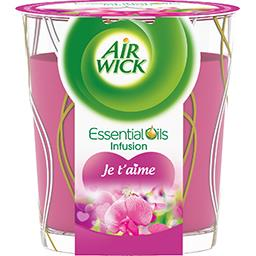 Essential Oils Infusion - Bougie Je t'aime
