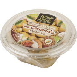 Olives vertes farcies aux amandes craquantes