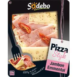 Pizza chiffonnade de jambon & emmental - La Pizza Style
