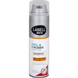 Men - Gel à raser peaux sensibles, hydratation imméd...