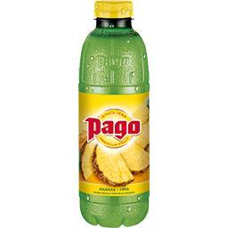 Pago Pago Jus d'ananas 100% pure fruit la bouteille de 75cl