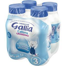 Croissance - Lait liquide Calisma 3, à partir de 12 ...