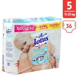 Couches Touch, taille 5 : 12-22 kg