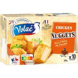 Nuggets au filet de poulet