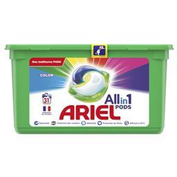 Ariel Ariel Lessive en capsules allin1 pods couleur La boîte de 31 lavages